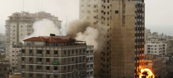 Gaza Highrises Smoothed By Israel