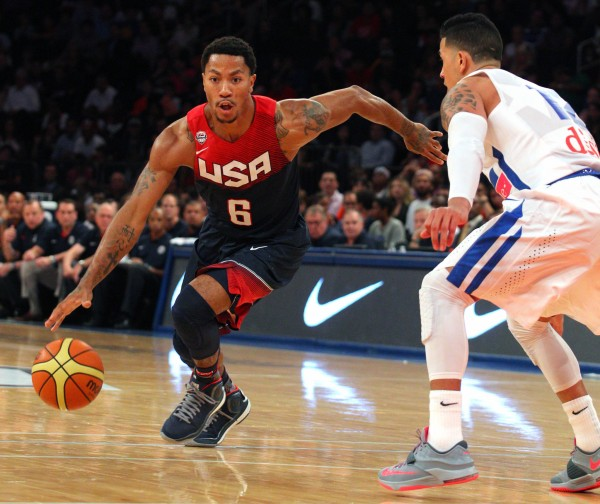 Basketball: Puerto Rico at USA