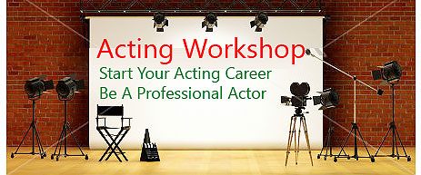 Enhance Your Skills At An Acting Workshop