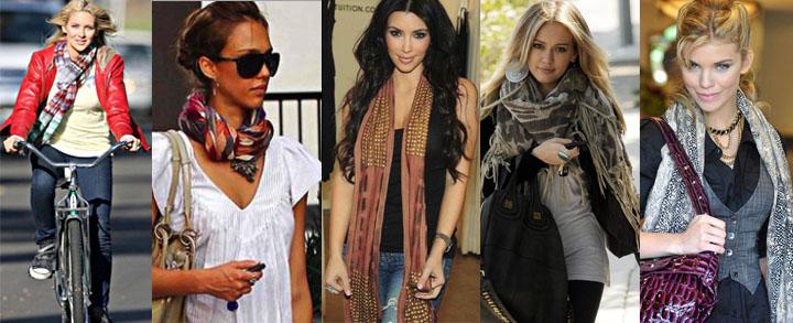 Celebrity Scarves