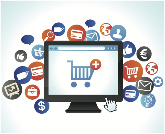 Increase in consumption of e-commerce websites