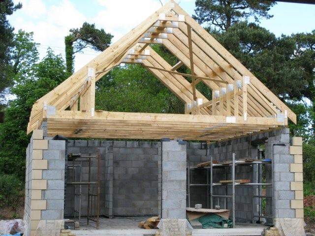 Superb ... Make A Garage Roof Trusses . Images_IMG_0676