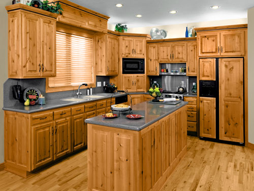 Neat and Hygienic Kitchen
