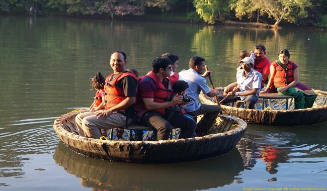 Coracle Boating Dandeli