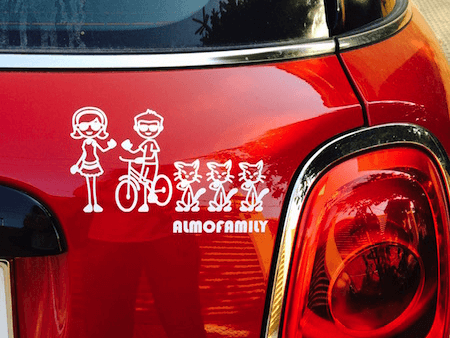 Car Window Decals and Bumper Stickers