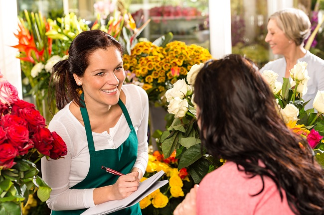 The Motto Of Florists: Joy and Sunshine Everywhere