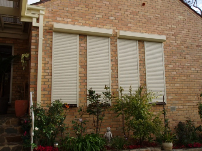 Security shutters for windows