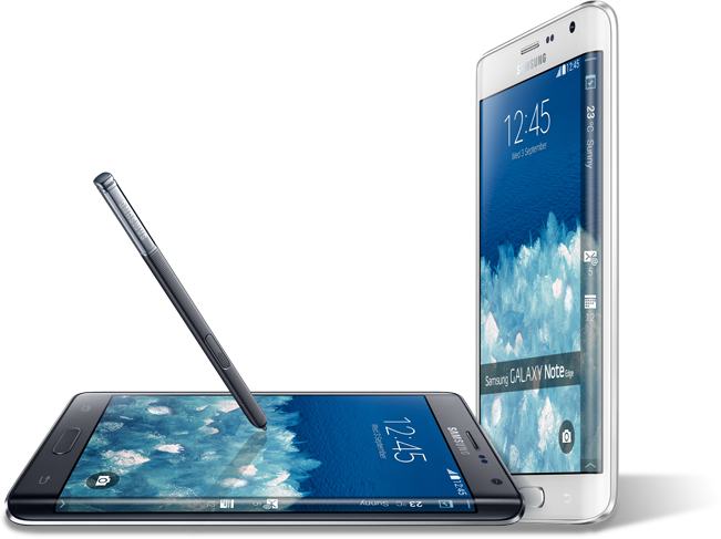 Working With The Display Of Samsung Galaxy Note Edge