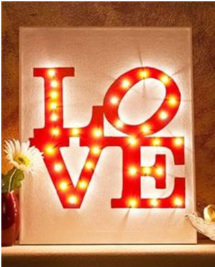 Light Up Your Love This Day Of Valentine