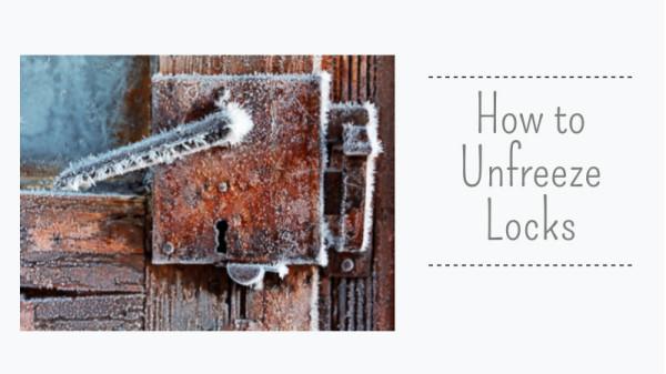 How To Unfreeze Locks