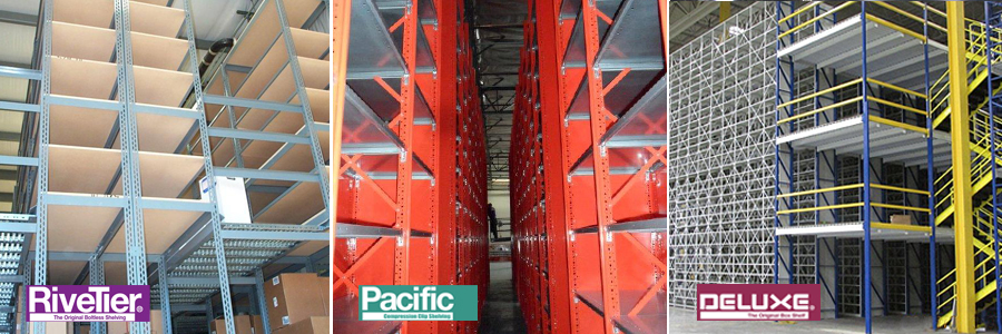 shelving storage slides