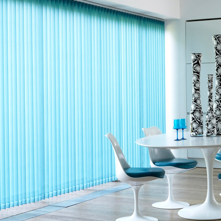 Vertical Blinds Are Unbeatable In Style and Cost
