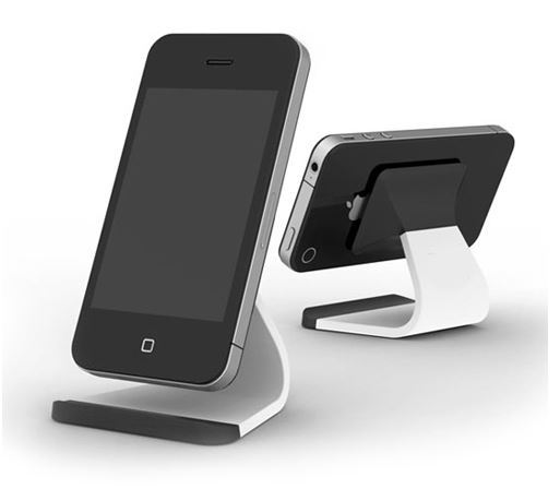 Desk-mounted-cell-phone-holders-