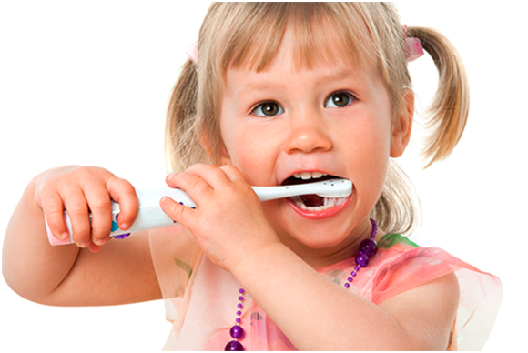kids-brushing