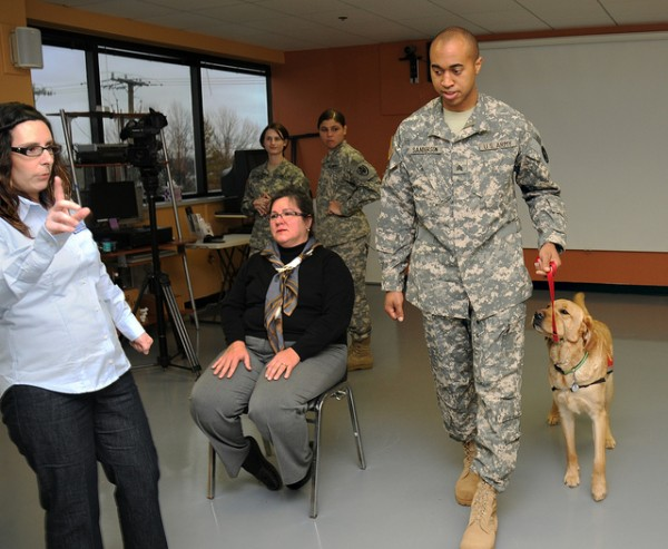 Canine Companions And The Returning Veteran