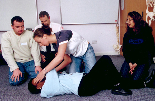 The Basics Of Workplace First Aid