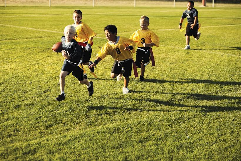 Develop Physical & Mental Skills With Football!