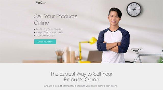 best-eCommerce-software-builder-Wix