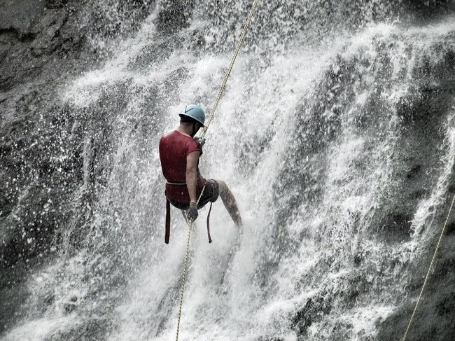 Waterfall Rappelling Coorg