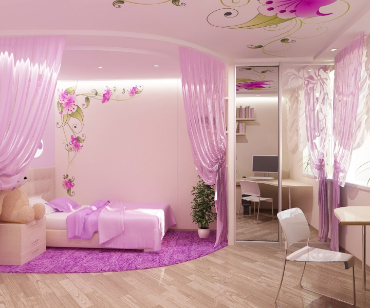 The Perfect Princess Bedroom Makeover!