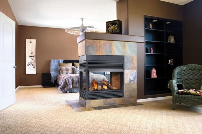 peninsula fireplace